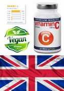 200 Vegan and High Strength Vitamin C Tablets - 1.000 Mcg Pure C-Vitamin