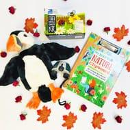 Win a My RSPB Nature Clipboard, Binoculars, Explorer Kit & Puffin Hand Puppet