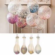 "20PCS 12"" Colorful Confetti Balloon, Helium Balloons"