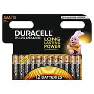12 Pack AAA Durecell Batteries