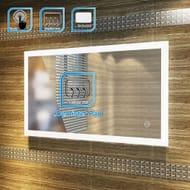 1000x600mm Rectangle Bathroom Illuminated LED Mirror Wirh Fog Free Function