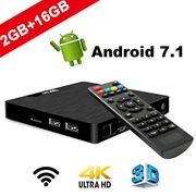 Android TV Box - VIDEN W2 Newest Android 7.1 Smart TV Box
