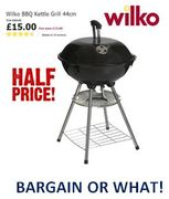 BARGAIN or WHAT?! HALF PRICE Kettle BBQ Grill - Just £15 at WILKO !!!