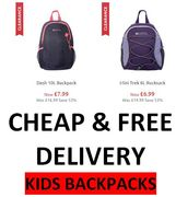 KIDS Rucksacks - GOING SUPER CHEAP + FREE DELIVERY on EVERYTHING THIS WEEKEND!