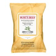Burt's Bees 30 Facial Cleansing Wipes with White Tea Extract