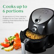 Tower Air Fryer with 60 Minute Timer, 1500 W, 4.3 Litre
