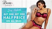 Bras! Bras! Bras! Buy One Get One Half Price Deal Now On