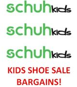 Kids Shoes for a LOT LESS! at Schuh KIDS SALE - Reebok, Nike, Clarks, Converse