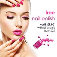 Free Nail Polish W/ Order