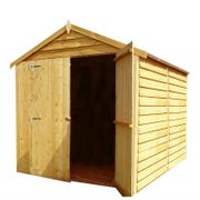 Shire Overlap Garden Shed (8' X 6')