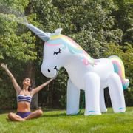 OMG Hahaha! Giant Unicorn Sprinkler