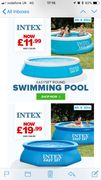 Intex Swimming Pools from £11.99!