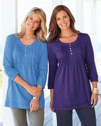 Pack of 2 Tunics Clearance Item Half Price