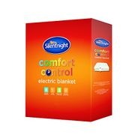 BARGAIN BUY! Silentnight Comfort Control Electric Blanket Single £13.99 AMAZON!