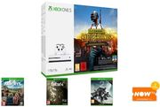 Xbox One S 1TB with PUBG + Far Cry 5 + Fallout 4 + Destiny 2 + Now TV