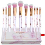 Pink Make up Brushes Professional 10pcs