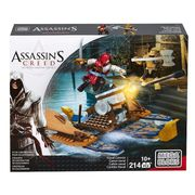 Mega Bloks Assassins Creed Naval Cannon 214pc Set