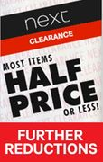 Next Clearance - FURTHER REDUCTIONS on NOW - 75% REDUCTIONS