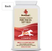 -80% Paw Nutrition Fish Oil Soft Gel Capsules for Dogs & Cats