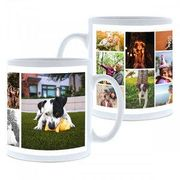 Personalised Collage Photo Mug - up to 11 Images plus Other Designs