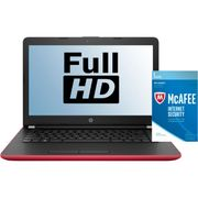 """HP 14"""" Laptop Includes Free McAfee Internet Security Red/Gold/Silver"""