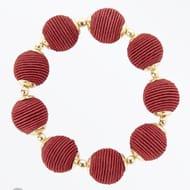 Wrapped Bead Bracelet - 3 Colours - Now £1