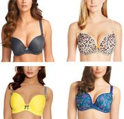 Freya Deco Moulded Underwired Lightly Padded Smooth Plunge T Shirt Bra