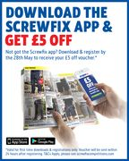 Get the Screwfix App for £5 Off
