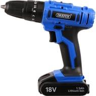 Bargain Draper 18V Cordless Drill £34.98 at Toolstation