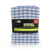 Great Deal of Check Terry Towels ( Pack of 4) Only for £2.50