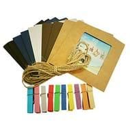 Bargain Hanging Photo Frame Album (10 Pcs Paper)