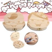 Wooden Baby Teeth Storage Box Free Delivery