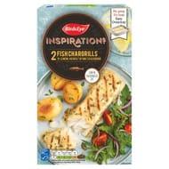 Birds Eye Inspirations 2 Fish Chargrills in Lemon, Herb & Thyme Seasoning