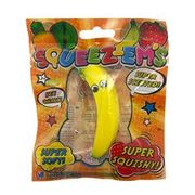 Squeeze-Ems Banana Keychain Scented Super Squishy (Sml)