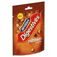 Mcvities Milk Chocolate Caramel Digestive Nibbles 120g