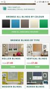 Free Sample of Differ Blinds or Curtains