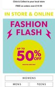 Fashion Flash. up to 50% Off