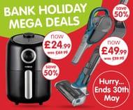 Big Brand Mega Deal Bank Holiday Weekend Only.
