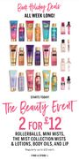 The Beauty Event 2 for £12