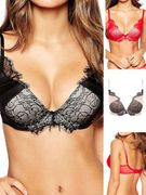 Ultimo Vivian Underwired Plunge Padded Plunge Push up Bra