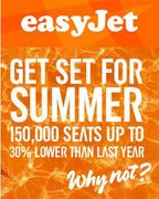 Book Your Summer Easyjet Flights for Less than Last Year!