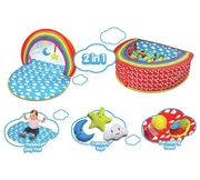Chad Valley Baby 2 in 1 Play Gym and Ball Pit
