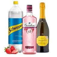 Asda Pink Spritz Bundle! Pink Gin, Prosecco, Lemonade & Strawberries!