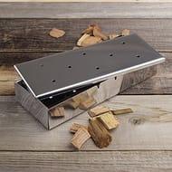 Start Smoking! Barbecue Wood Chip BBQ Smoker Box - save £14