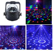 Stage Disco Ball Lights Wonsung 12W RGBW Multi-Colour LED