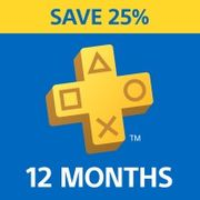 25% off 1 Year Subscription Playstation Plus