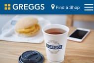 Free Speciality Tea with GREGGS Reward App