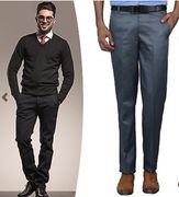3-Pack of Men's Formal Trousers - Only £29.99!