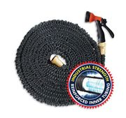 Bargain - 50ft 5-in-1 Expandable Hose & Spray Nozzle from Only £9.99!
