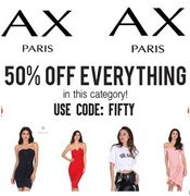 Last Chance! 50% off Ax Paris
